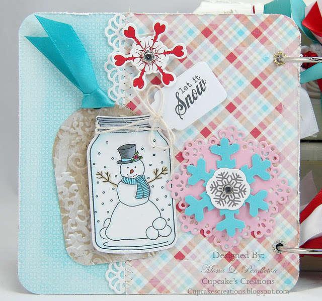 snow day Ski mini album Page 3