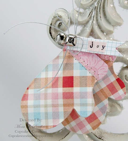 Joy Mittens Ornament