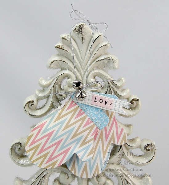 Love Mittens Ornament