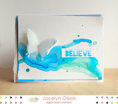 Watercolor Believe