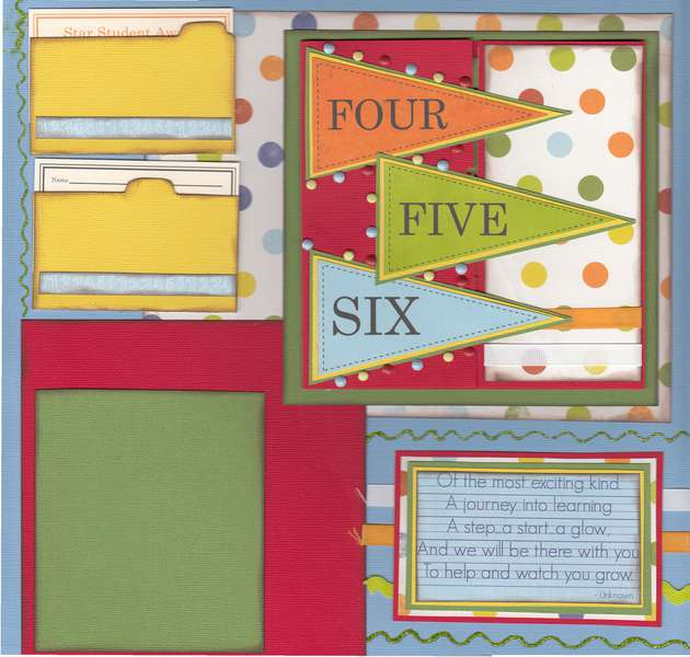 One Two Three - Right Page