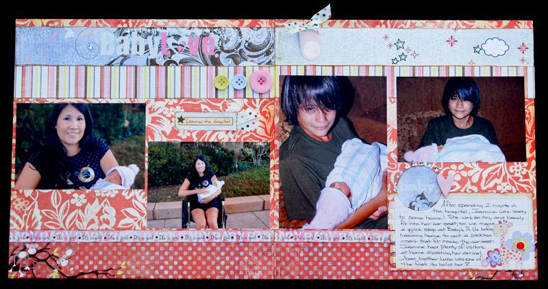 Baby Love Layout