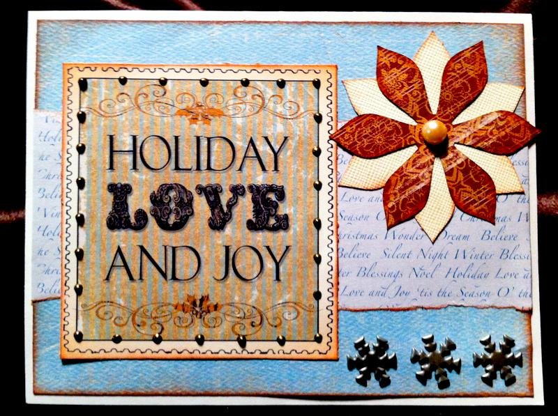 Holiday Love and Joy Card