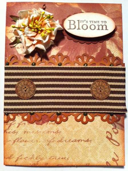 It's Time To Bloom Card