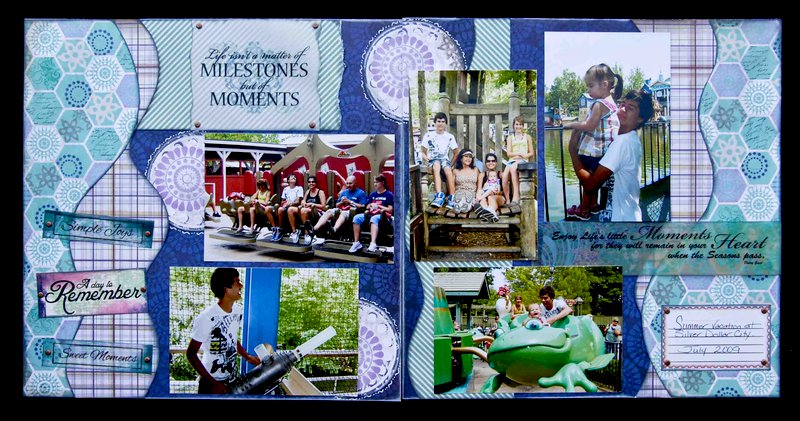 Moments & Milestones Layout