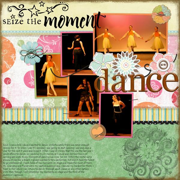 Dance - Shabby Shoppe Template Challenge 16