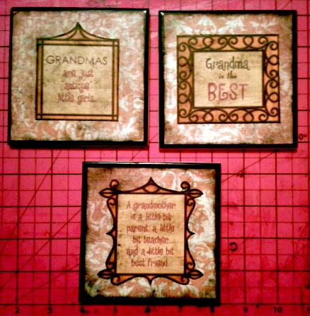 Grandmother Tile Coaster