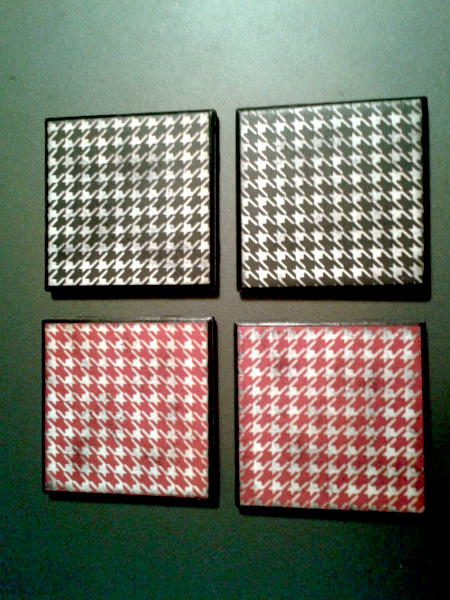 BAMA   Tile Coaster set of 4