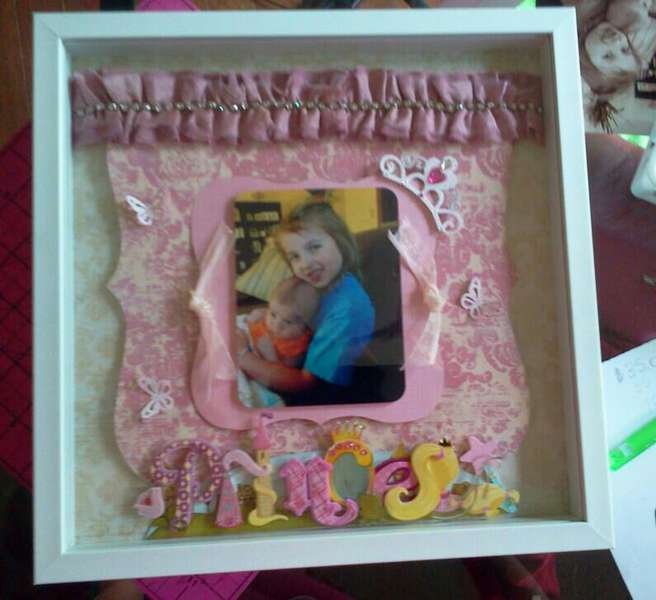 Princess Theme Shadowbox