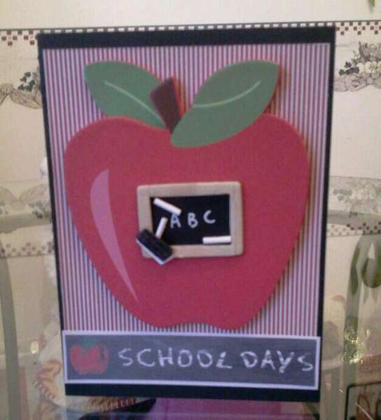 Teacher's card