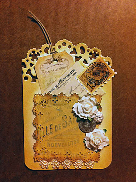 Shabby Chic Tag for Exchange