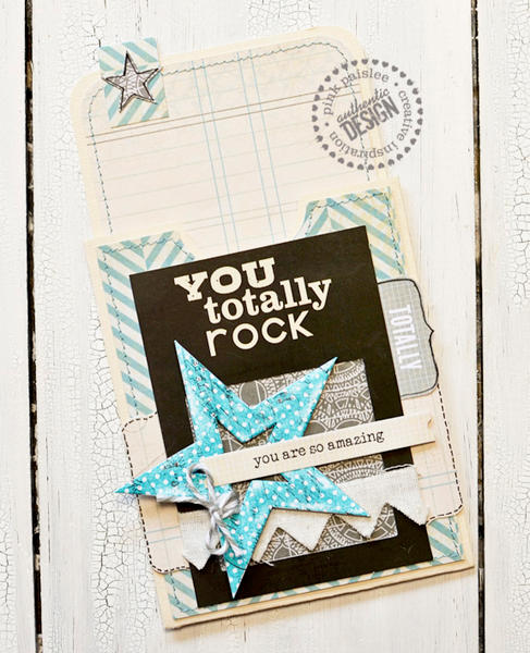 You Totally Rock Library Pocket Card