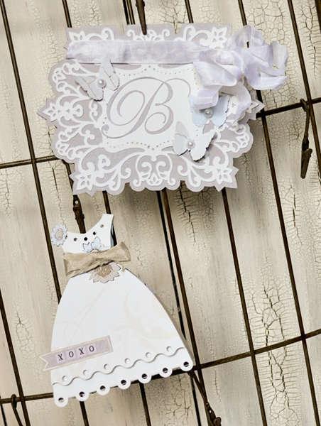 Wedding Card and Dress Box Set