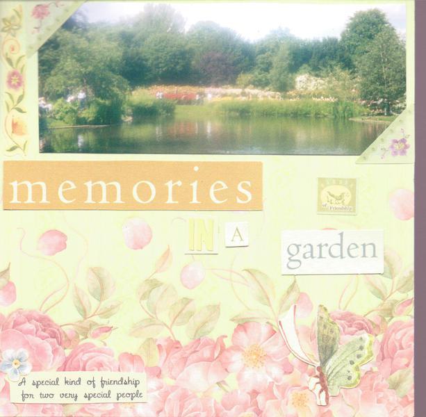 memories of a garden