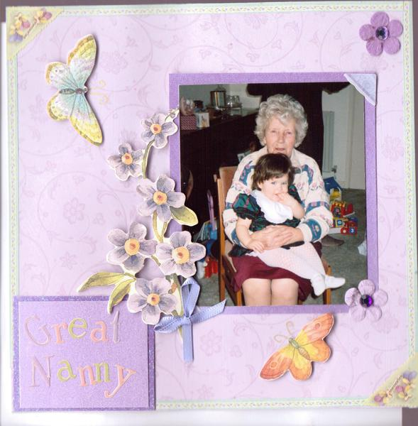 my first christmas with Great nanny