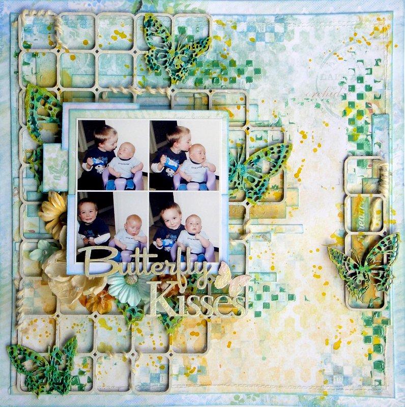 Blue Fern Studios - Butterfly Kisses