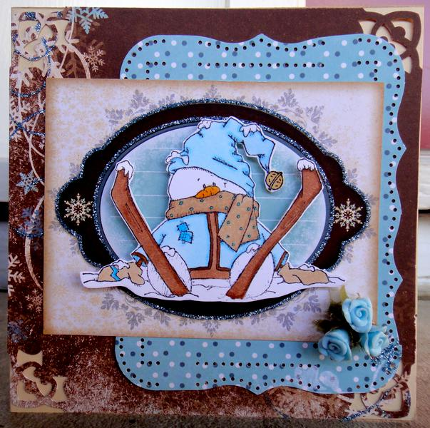 Frosty Card *** Flying Unicorn CT ***