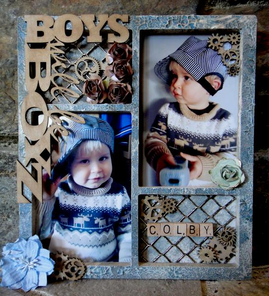 Boys Will Be Boys frame *** Flying Unicorn CT ***