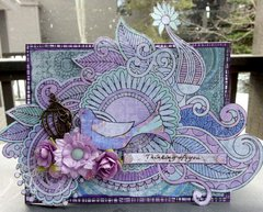Any Occasion Card *** Flying Unicorn CT ***