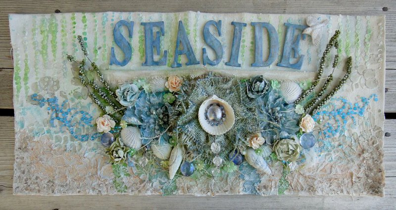 Seaside Canvas *** Flying Unicorn Mid-Month Muse ***