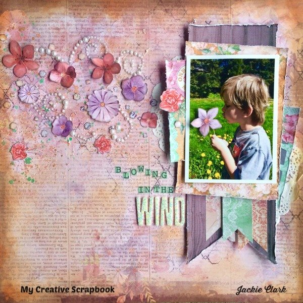 Blowing in the Wind *** My Creative Scrapbook ***