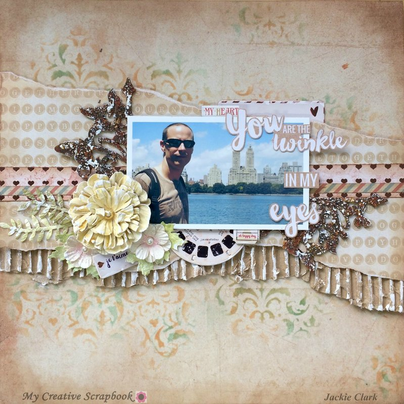 The Twinkle In My Eyes * My Creative Scrapbook *