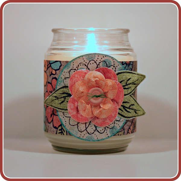 Custom Candle Wrapper