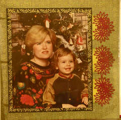 Ryan and Mom Christmas 1991