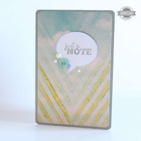Just a Note (Studio Calico August Kit)