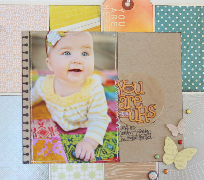 You Are Ours {Studio Calico October Kit Field Guide}