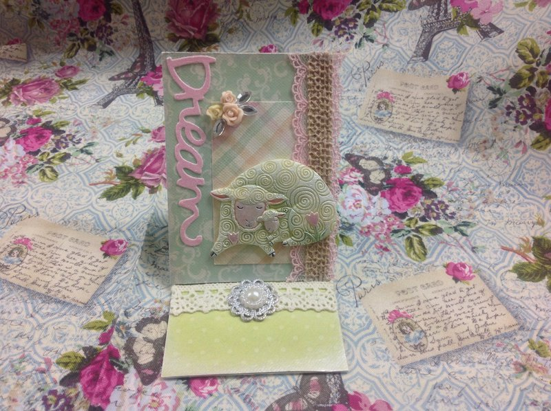 Dream of spring easel atc