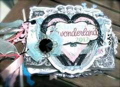 Winter Wonderland mini chipboard album