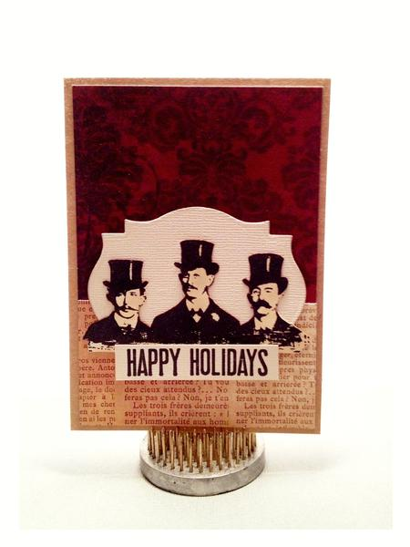 """The Classy Guys"" Christmas Card!"