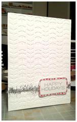 Clean 'n Simple Christmas Card