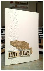 WING! Christmas Card