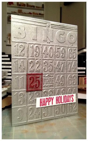 BINGO! Christmas Card