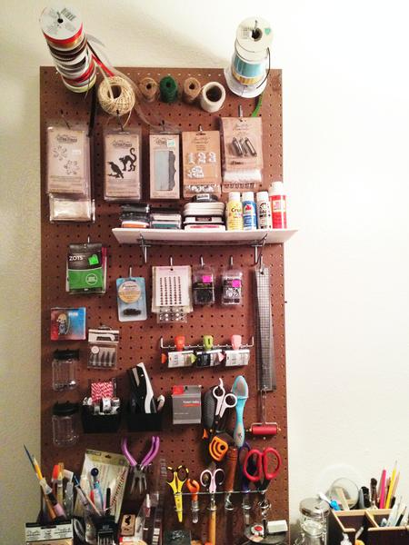 My Ten-Minute Pegboard!