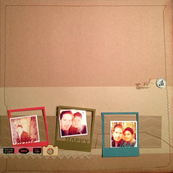 new layout!  Hello Happy Love