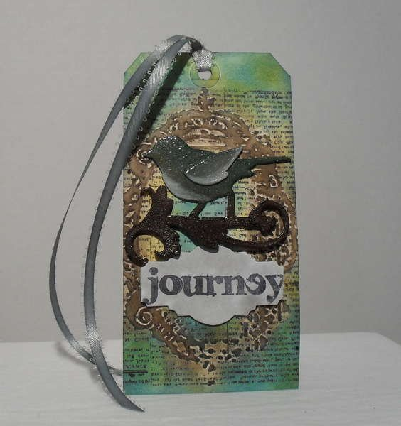 My version of Tim Holtz's TAG for APRIL 2012