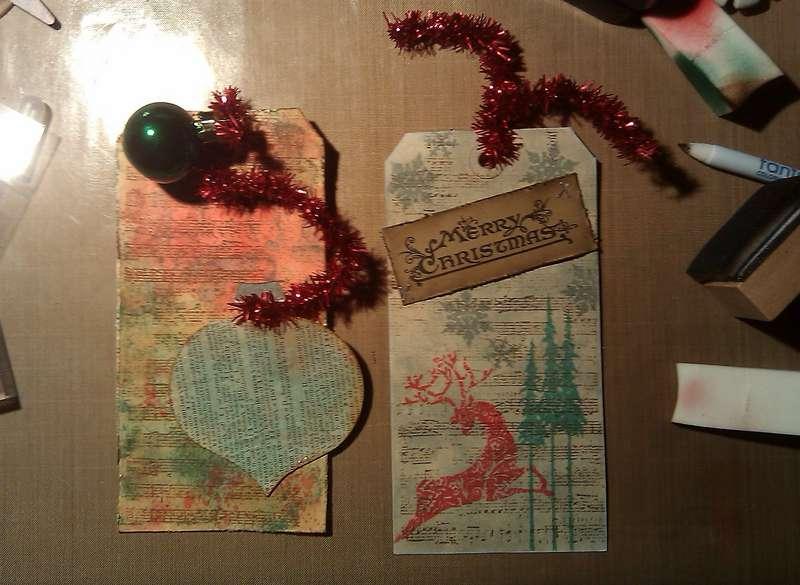 Christmas Tags/Cards!