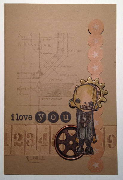 "New Card!  ""i love you"""
