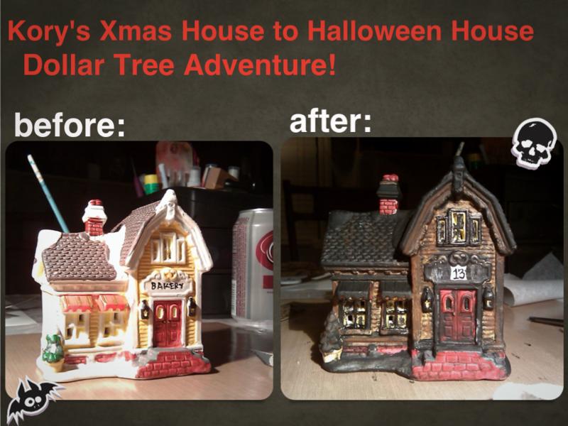 Dollar Tree Adventures: Haunted House!