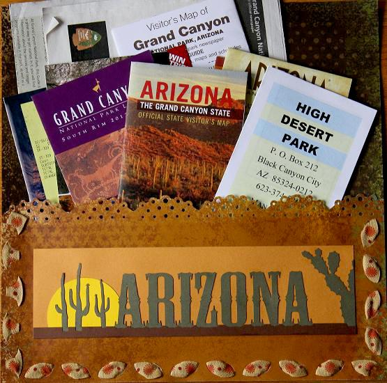 Arizona- Pocket Page