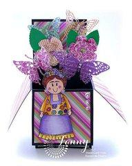 Card in a box Frida Tihuana