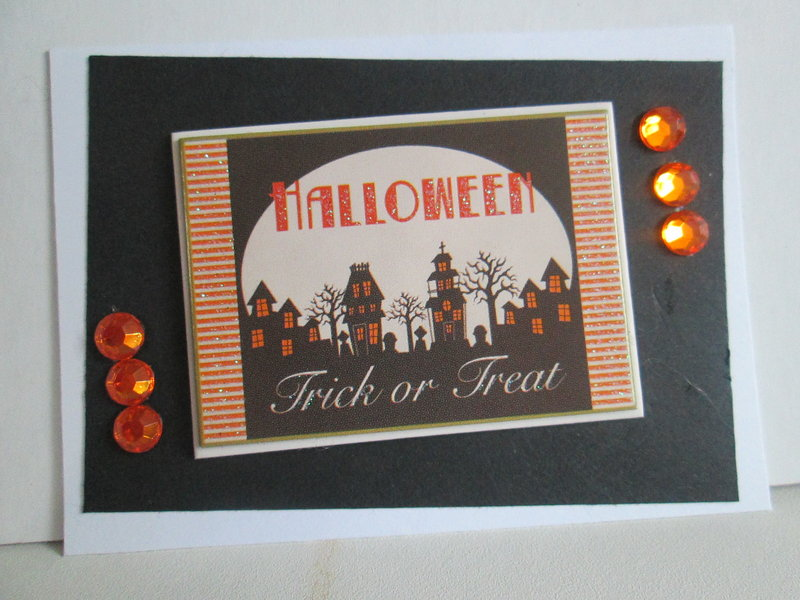 Halloween #2 ATC swap