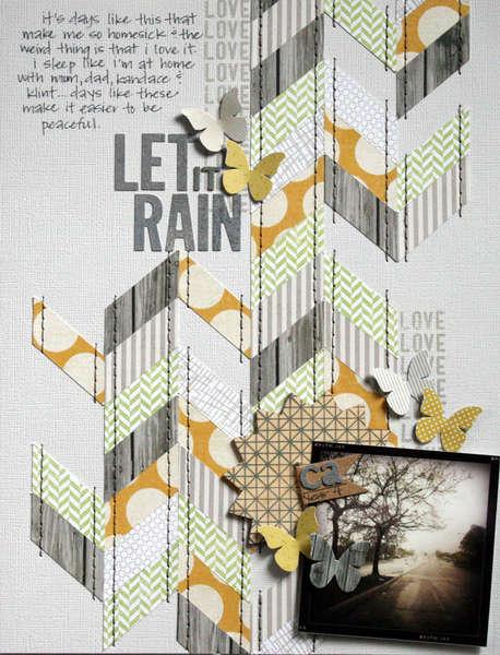 Let it Rain {Studio Calico: April Kit}