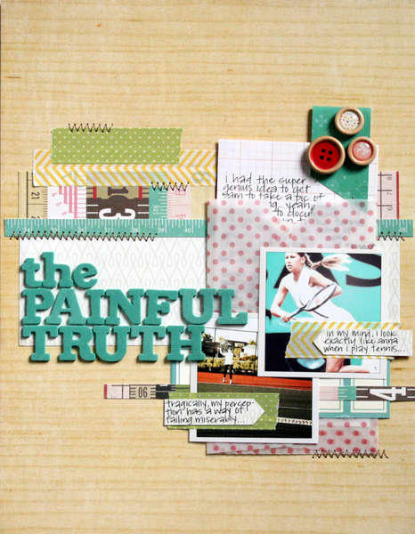 The Painful Truth {Studio Calico: April Kit}