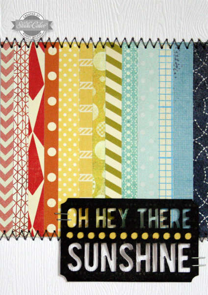 Sunshine {Studio Calico: July Kit}