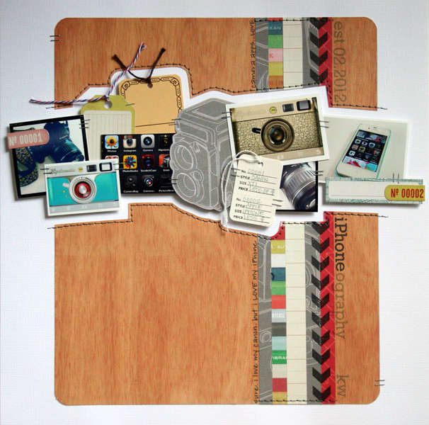 iPhone-ography {Studio Calico: March Kit Layout}