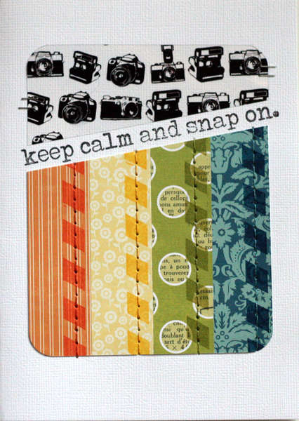 Keep Calm and Snap On {Studio Calico January Kit}